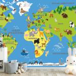 mapa świata x
